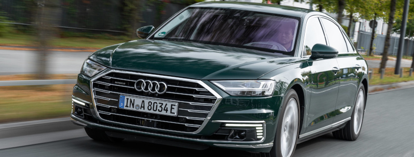 Audi A8 plug-in hybrid verenigt luxe en efficiency