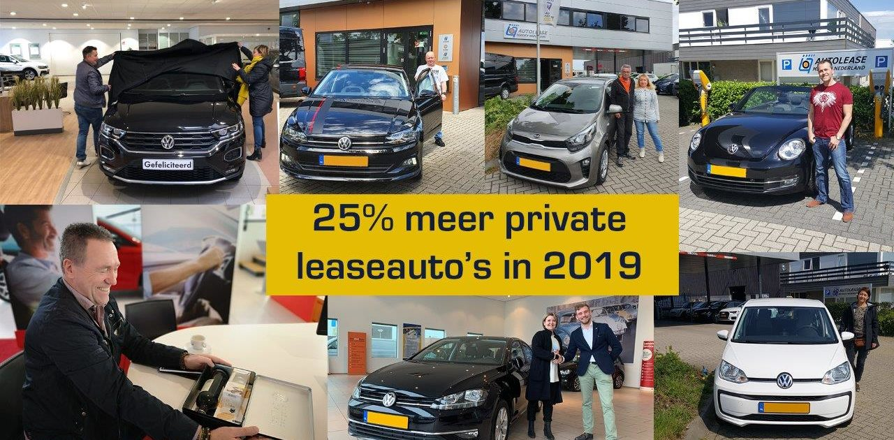 Private leaseauto's